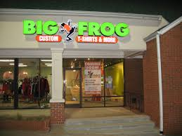 Big Frog Custom Tshirts and More